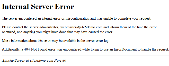 Solved: Learn how to fix 500 Internal Server Error on Magento 2.2.2